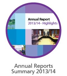 Annual report 13/14 summary