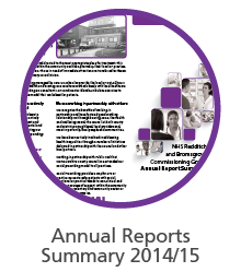 Annual report summary 14/15